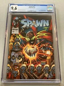 SPAWN # 13 CGC 9.6 NM+ 1993 Youngblood Appearance NEW CASE 017