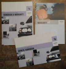 VOLVO Selected Used Cars Handbook & Warranty orig 2005 UK Mkt Brochure Pack