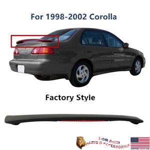 Fit For Toyota Corolla 1998-2002 Factory Style Trunk Spoiler & LED Brake Lamp