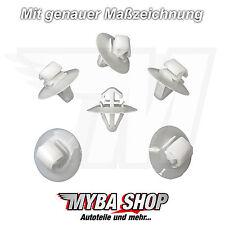 10x Zierleistenklammer Befestigungs Clips für Renault Kangoo Master | 7703077421
