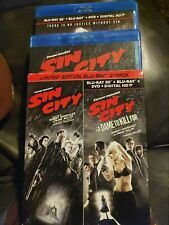 Sin City (Blu-ray) and Sin City: A Dame to Kill For (3D Blu-ray Pack) Limited Ed