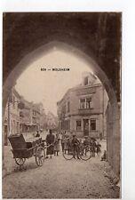 MOLSHEIM Bas Rhin Alsace CPA 67 carriole sous la porte