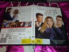 I DON'T KNOW HOW SHE DOES IT (DVD, PG) (129013 A)