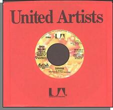 "Cindy Bullens - Survivor + Finally Rockin' - 1978 7"" 45 RPM Single!"