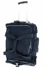 Kipling Discover Small Carry-On Rolling Navy Blue Luggage Duffle Bag
