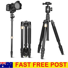 Q668S Carbon Fiber Pro Digital Camera Tripod Monopod Ball Head For DSLR Camera