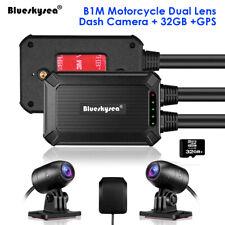 B1M 135° NT96663 Dual Lens 1080P Motorcycle Wifi GPS Dash Cam Recorder WDR 32GB