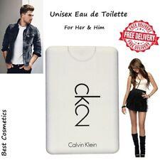 NIB Calvin Klein Ck2 Eau de Toilette EDT Spray Men & Women Unisex Fragrance 20ml