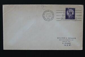 US 1957 Cover operation deep freeze  canceled Byrd Station, Antarctic U.S.N