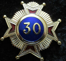 Masonic Regalia - Rose Croix 30th Degree high quality jewel for sash - new