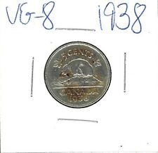 5 cent canadian 1938 VG