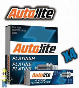 Autolite AP66 Platinum Spark Plug - Set of 4