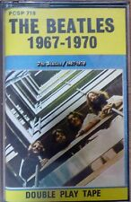 the beatles - 1967-1970 - double play tape cassette - made in israel PCSP 718