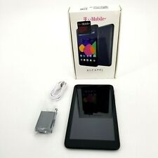 Alcatel ONETOUCH Pixi 7- 8GB WI-FI 4G T-mobile 9006W BLACK + 8GB MicroSD - MINT