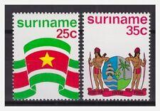 Surinam / Suriname 1976 Flag and Arm of Surinam MNH