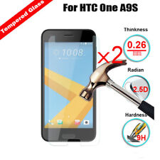 2PCS Premium Genuine 9H Tempered Glass Ultra Slim Screen Protector For HTC Phone