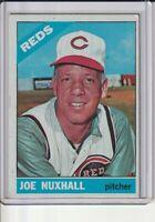 Joe Nuxhall 1966 Topps Baseball Card #483 (A)