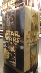 VHS STAR WARS LA TRILOGIA COFANBETTO IN THX