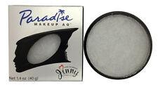 *NEW* Mehron Paradise Makeup BRILLIANT SILVER / METALLIC SILVER - Pro Size