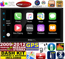 BLUETOOTH GPS NAVIGATION BOSS AUDIO SYSTEM APPLE CARPLAY ANDROID AUTO CAR RADIO