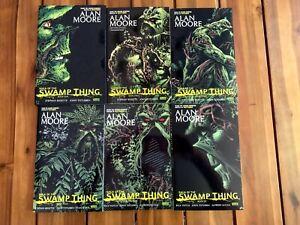 Saga of the Swamp Thing Books 1-6 by Alan Moore DC Vertigo