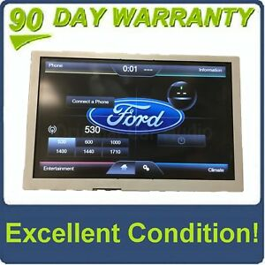 """2013 - 2015 Ford F250 F350 OEM 8"""" Sync Radio Information Touch Screen Display"""
