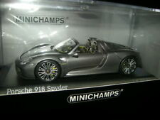 1:43 Minichamps Porsche 918 Spyder 2013 grey/grau Nr. 410062132 in OVP