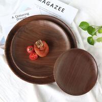 Wooden Serving Tray Serving Tea Coffee Breakfast Food Wood Kitchen Platter Decor