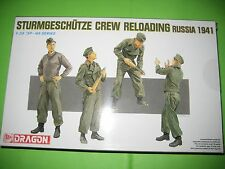STUG. CREW RELOADING BY DRAGON FIGURES 1/35 - REF.6192