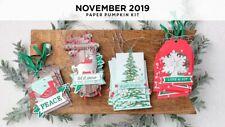 Paper Pumpkin November 2019 Kit - Winter Gifts - NEW - FULL KIT IN BOX