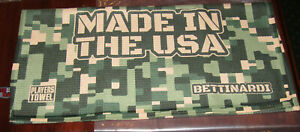 Bettinardi USA Hex B Digital Camo Players Towel,  Brand New!