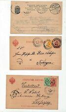 Estonia Latvia Early Postcards Stationery x 8 (ZZ111