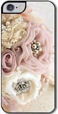 """Cover per iPhone 6 e 6s con stampa  """"Pizzo e perle"""""""