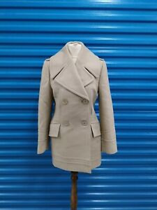 Ladies Gucci Wool/Cashmere Blend Double Breasted Coat