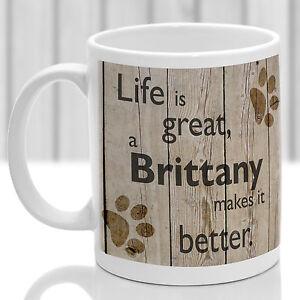 Brittany dog mug, Brittany dog gift, ideal present for dog lover