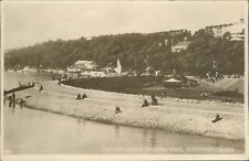 Southend on sea; the espalande looking west; real photo; 1931