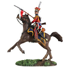 W Britain - Napoleonic Dutch Lancer Rearing on Horse 36147 French Imperial Guard