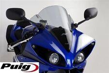 "PUIG Yamaha R1 2009-2012 light tint or ""CF LOOK"" double bubble racing screen"