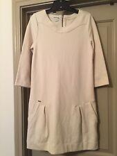 Lacoste Women's Beige Long Sleeve Dress, Short, Size 40/8 NWT