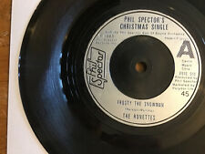 "Phil Spector's Christmas Single UK 1975 7""45-RONETTES/DARLENE LOVE/CRYSTALS-EX."