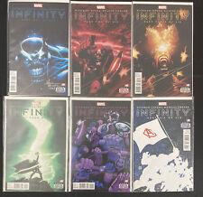 Infinity 1-6 Marvel Comics VF/NM Full Run Set Lot Series Signed Mark Morales