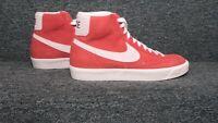 Nike Men's Blazer Mid 77 Suede Habanero Red Size 10 NEW (CZ1088-600) CS1112