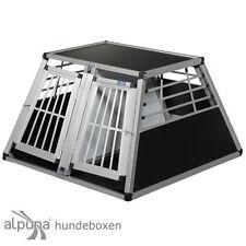 N56 Boîte de transport chiens OX Doppelbox en aluminium pour Alubox