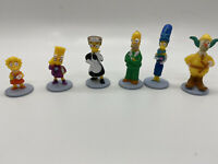 The Simpsons Clue Board Game Replacement Game Figure Pieces Suspects 2nd Edition