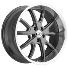 "Staggered Vision 143 Torque 18x8.5,18x9.5 5x4.5"" +32mm Gunmetal Wheels Rims"