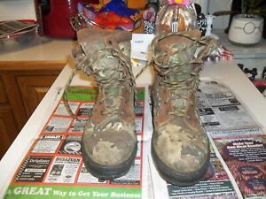 Rocky Gortex Hunting Boots Camouflage Size 14W 8120A 7571 Turkey Deer Hunting