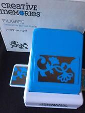 NIB Creative Memories Filigree Decorative Border Punch