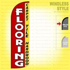 Flooring Carpet Hardwood Tile Windless Swooper Flag 115 Ft Tall Feather Sign Rq