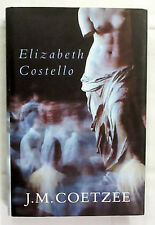 Elizabeth Costello Eight Lessons by J M Coetzee Signed 1st Edition Hardback/DJ