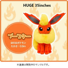 HUGE 35inches Flareon Plush Doll Pokemon Center Life Size 90cm Japan Limited